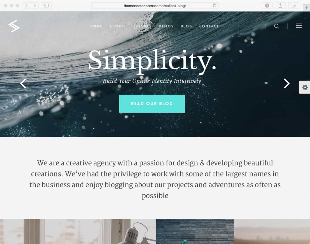 Sailent - WordPress Theme