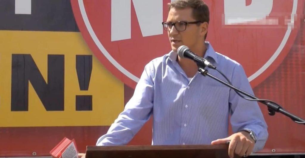 Patrick Dahlemann Rede vor NPD