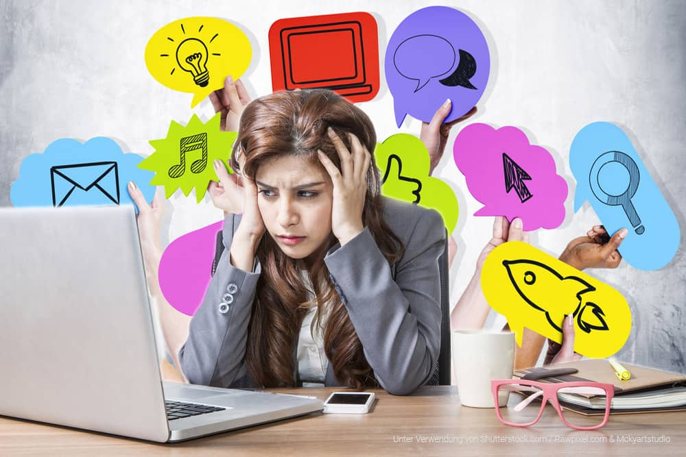 Social Media ist Zeitverschwendung