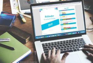 Blogger Kalender 2017