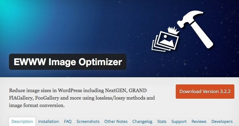 EWWW Image Optimizer WordPress Plugin