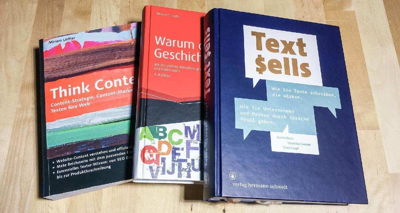 Leseliste Content Marketing: Storytelling, Texten