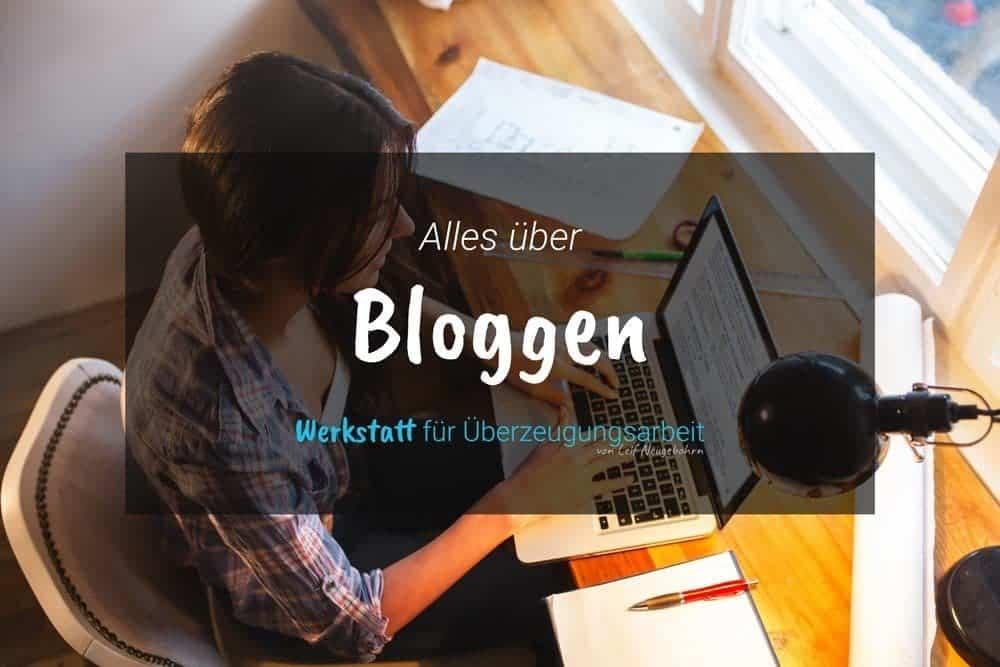 Bloggen: Tipps, Tricks rund um den Blog