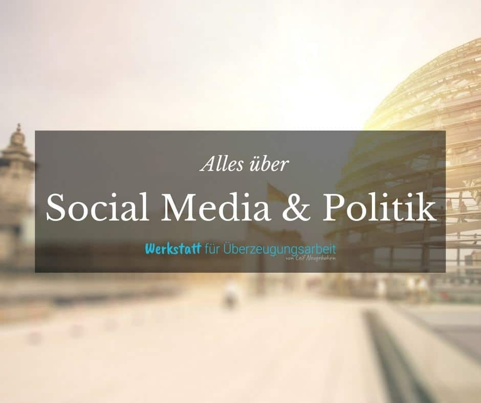 Social Media für die Politik