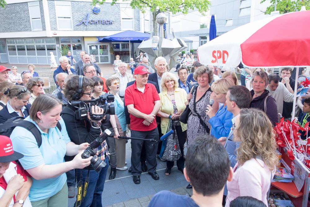Kommunalwahlkampf