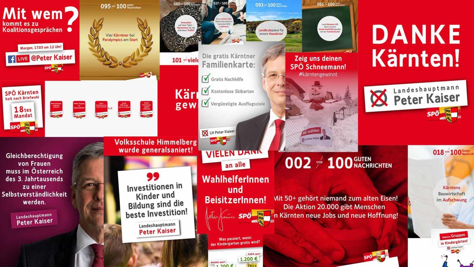 SPÖ Landtagswahlkampf Kärnten