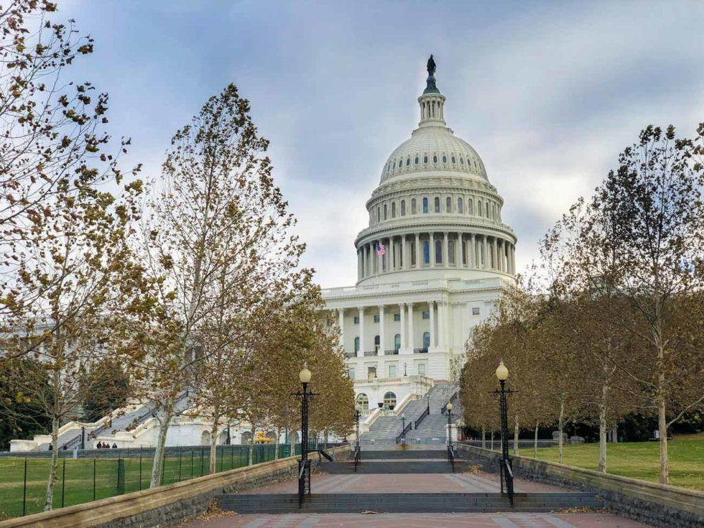 Wahlkampf in den USA - Kongress Washington