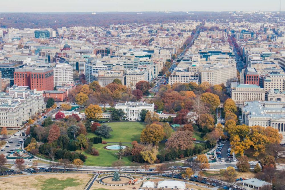 Washington DC Weisses Haus