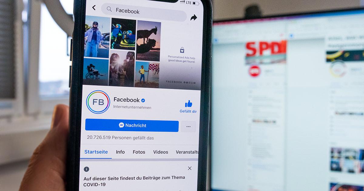 Facebook für Politiker und Parteien