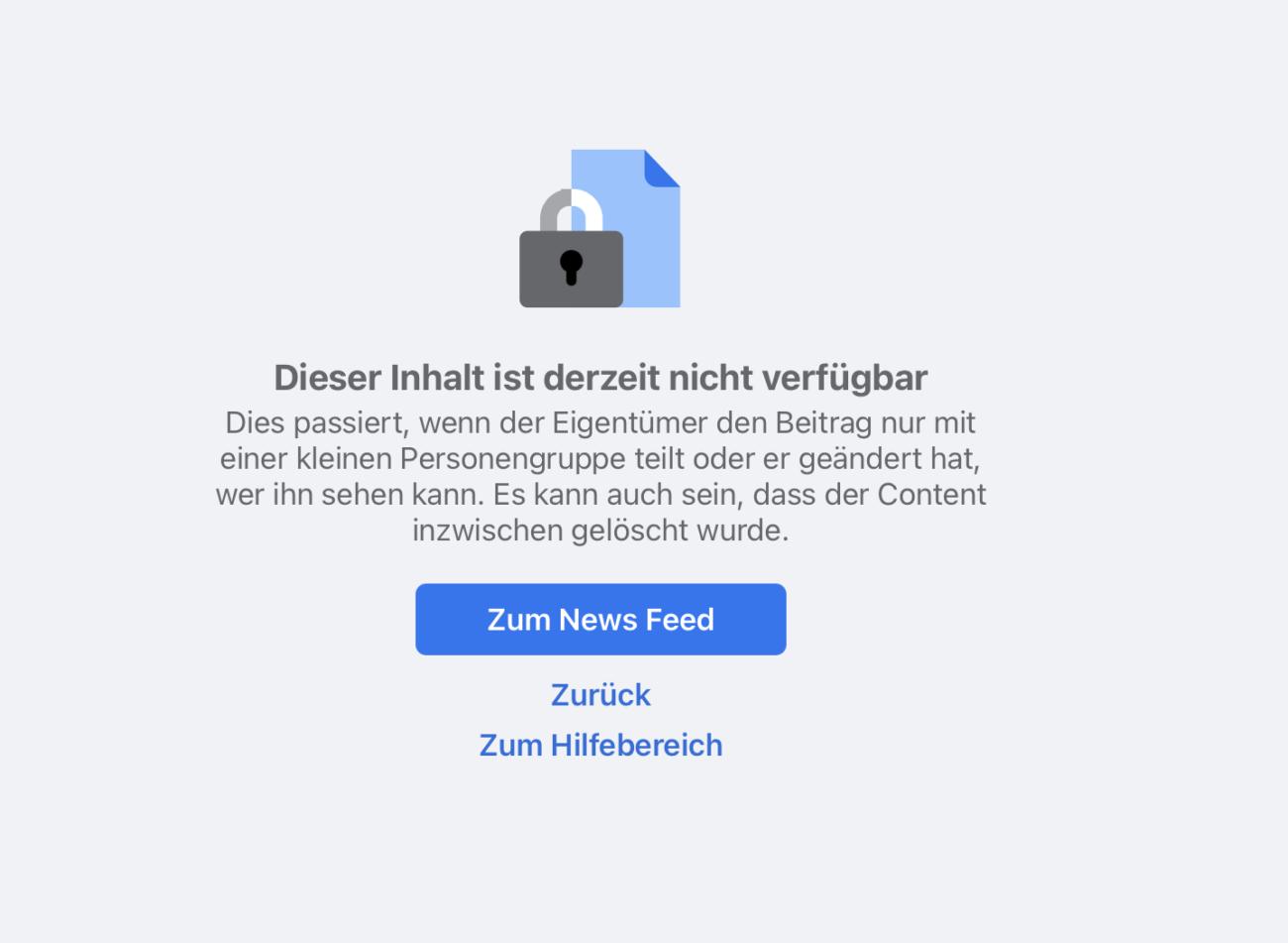 Facebook Profil in Seite umwandeln