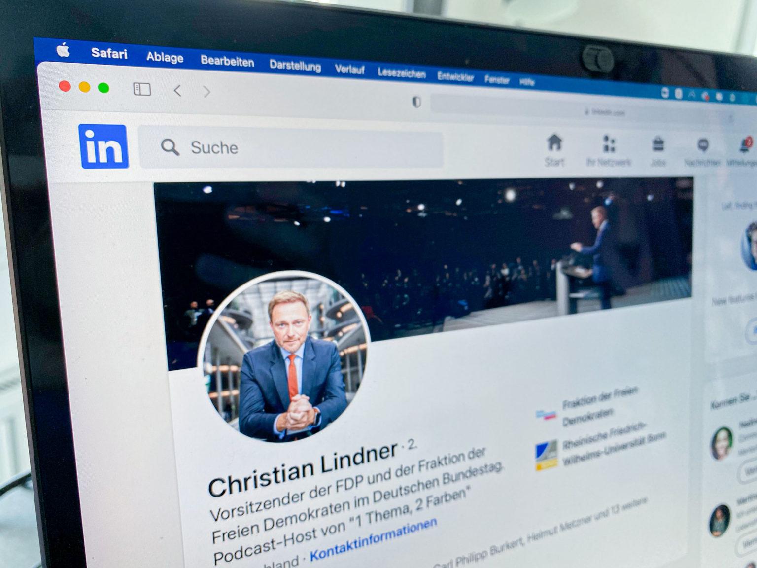LinkedIn für Politiker